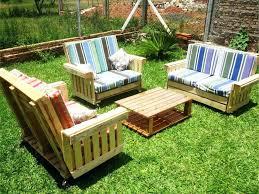 diy outdoor pallet patio furniture pinterest garden plans