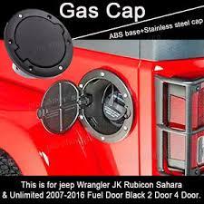 gas cap light jeep 1x black gas tank fuel filler cover cap for 2007 2016 jeep wrangler