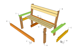 bench park bench plan benches detail drawing decoration news