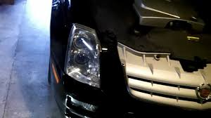 headlight replacement 2006 cadillac sts youtube