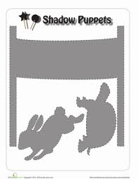 tortoise and the hare puppets worksheet education com