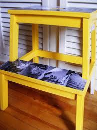 yellow diy ikea bekväm step stool ikea bekväm step stool