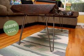 wood slab coffee table diy diy reclaimed wood coffee table hello lidy