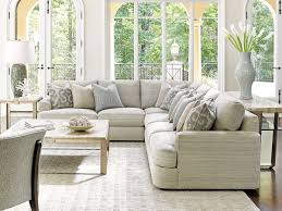 plush sectional sofas laurel canyon halandale sectional lexington home brands
