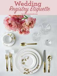 types of wedding registries wedding bells registry etiquette 101 conrad