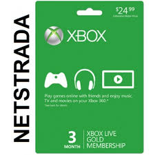 xbox live gift card xbox live 3 month subscription 360 x1 months usa gold gift card