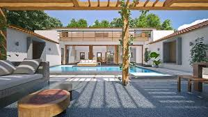 Courtyard Homes Central Courtyard At Navovado A Luxury Home In Goa Available For