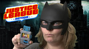 justice league action batman mask from mattel youtube