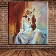 online buy wholesale hand painted oil painting people from china