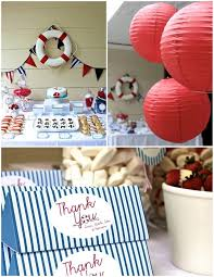 Nautical Party Theme - 42 best sailing nautical birthday party images on pinterest