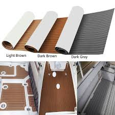 3 color marine boat flooring yacht teak decking carpet sheet