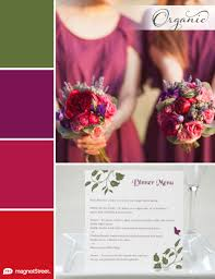 2018 wedding color trends spring summer fall winter red