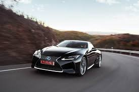 lexus v8 lc 500 2018 lexus lc 500 and lc 500h review autoweb