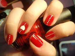 black red nail art images nail art designs