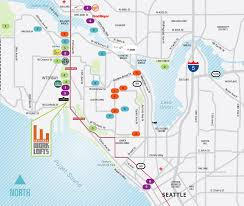 Map Queen Anne Seattle by Interbay Seattle Work Spaces Now Leasing