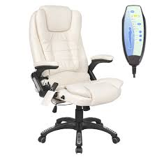 High Back Leather Recliner Chair Executive Office Chair Homcom Mesh High Back Reclining Office