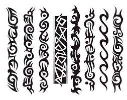 colorful tribal arm band design ideas design