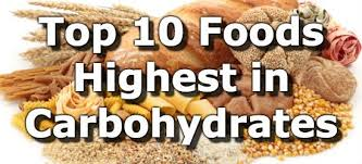top 10 foods highest in carbohydrates to limit or avoid