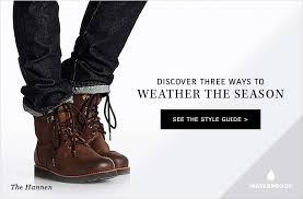 ugg rudyard sale ugg australia get set for the season with weather ready boots