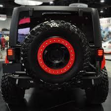 led lights for jeep wrangler jk jeep wrangler jk 2007 2015 black smoked led lights