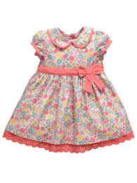 Lilly Pulitzer Baby Clothes Ladybird Girls Ditsy Floral Print Dress Woolworths Co Uk Baby