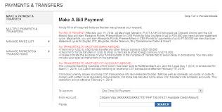 Card One Banking Business Account How To Pay Your Meralco Bill Using Your Credit Card My How To Diary