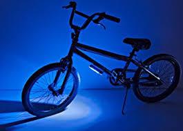 Light Bicycle Amazon Com Brightz Ltd Blue Go Brightz Led Bicycle Accessory