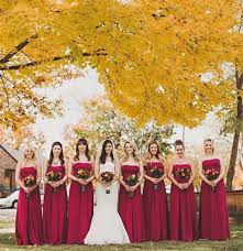 fall colors for weddings 12 combinations for color schemes for fall weddings