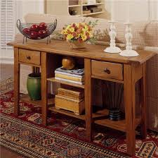 broyhill attic retreat end table attic heirlooms rectangular sofa table with 2 drawers and 2 shelves
