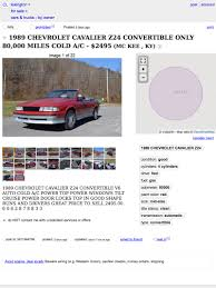 for 2 495 this 1989 chevy cavalier could have quite the attitude