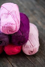 different types of purple different types of yarn stock photo image of handcraft 82770622