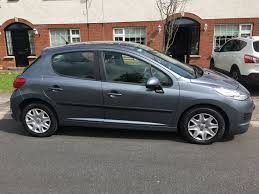 peugeot 207 2011 used peugeot 207 2011 diesel 1 4 grey for sale in louth