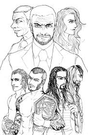 14 images of wwe roman reigns coloring pages roman reigns wwe