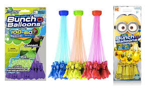 bunch balloons up to 83 on nozzle and water balloon set groupon goods