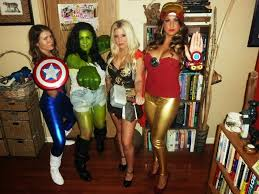 Avengers Halloween Costume Female Halloween Costume Ideas Creative Diy Halloween