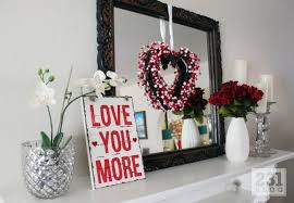 Valentine Day Decorations At Home by Fabulous Decorate Ideas For Valentine U0027s Day Modern Home Decor