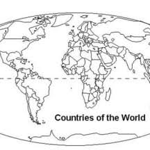 world map coloring pages printable world map netart