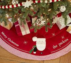 quilted tree skirt pottery barn