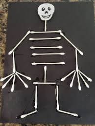 Halloween Crafts For Little Kids - the 25 best skeleton craft ideas on pinterest halloween crafts