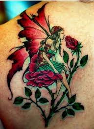 fairy tattoo designs have been a recent development in the tattoo