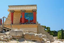 knossos palace of the minoans