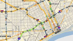 Map Of Michigan Highways by Stretch Of I 94 In Detroit Closed This Weekend