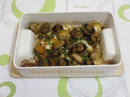 comment cuisiner chignons frais chignons de au four à l ail et au persil diet délices