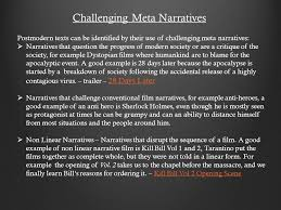 postmodern themes in film postmodernism is a theory that allows producers to challenge