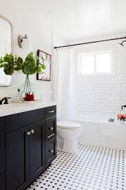 Black And White Bathroom Designs Bathroom Design Transitional Bathroom Downstairs Ideas In White