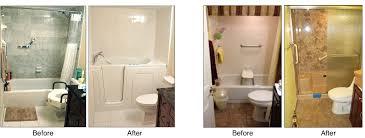 walk in tubs surprise installation shower conversions allure