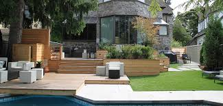 Terraced Patio Designs Modern Patio Montreal Outdoor Living