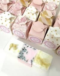 soap favors wrapped soap favor with wax seal bridal shower favor