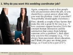 Wedding Coordinator Top 10 Wedding Coordinator Interview Questions And Answers
