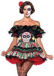 catrina costume leg avenue women s 2 day of the dead doll clothing